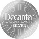 decanter asia silver